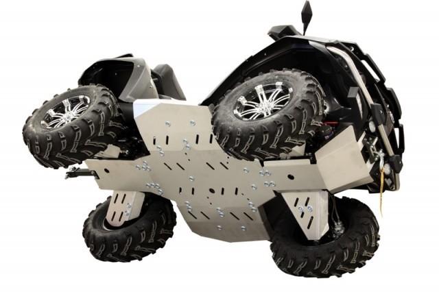 Hasplåt CF Moto C FORCE - Aluminium