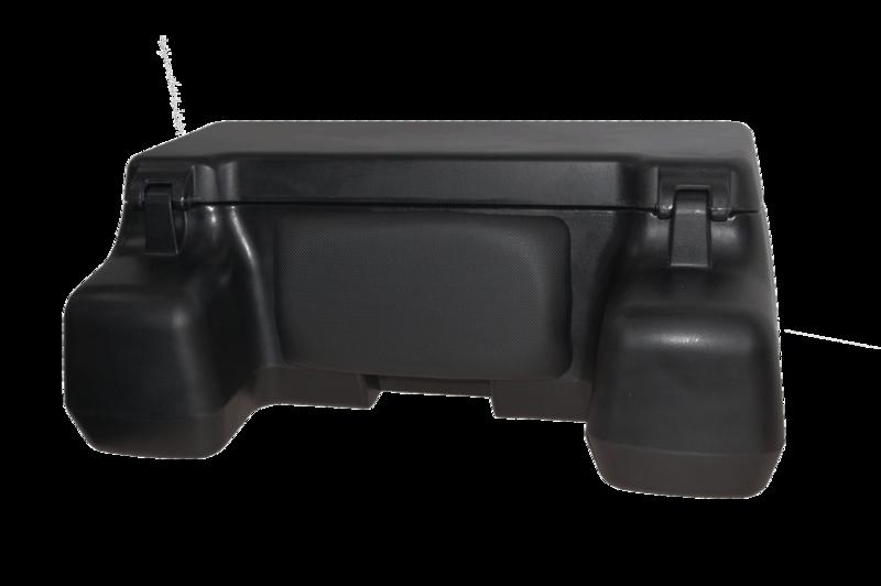 Black Wolf Rear Box ATV