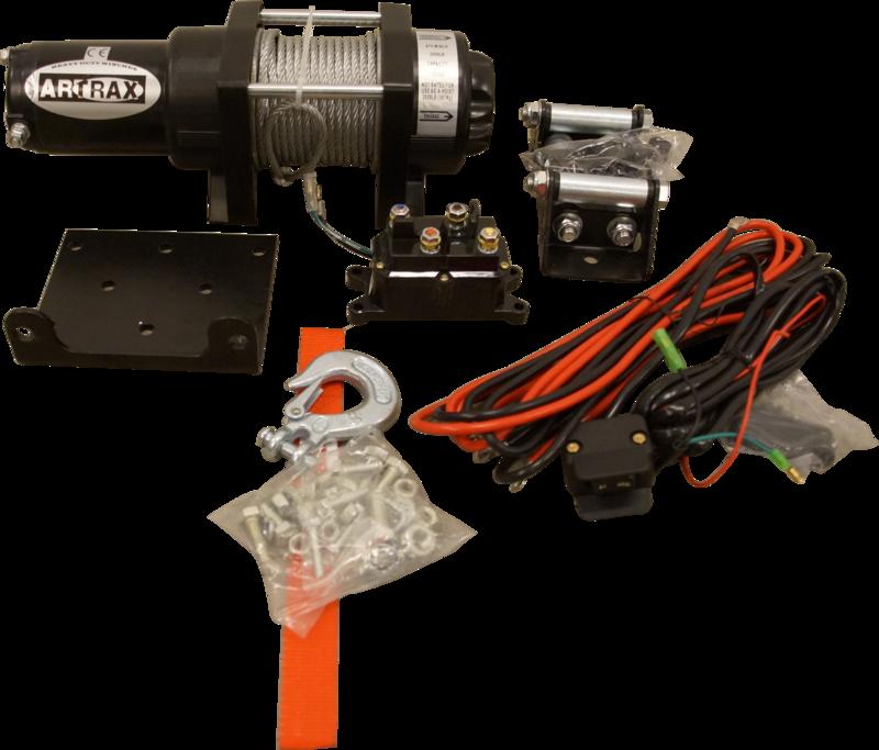 Black Wolf Artrax Vinschpaket 2.0 Steel ATV