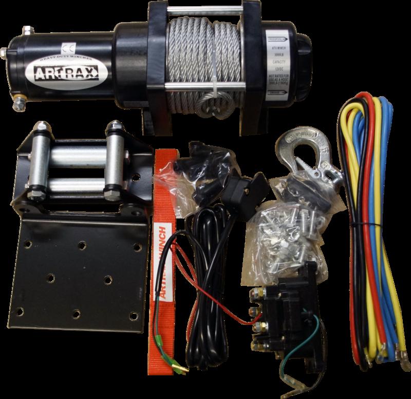 Black Wolf Artrax Vinschpaket 3.0 Steel ATV