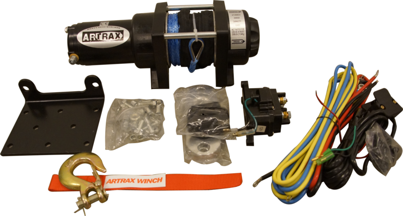 Black Wolf Artrax Vinschpaket 2.5 Nylon ATV