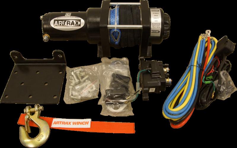 Black Wolf Artrax Vinschpaket 3.0 Nylon ATV