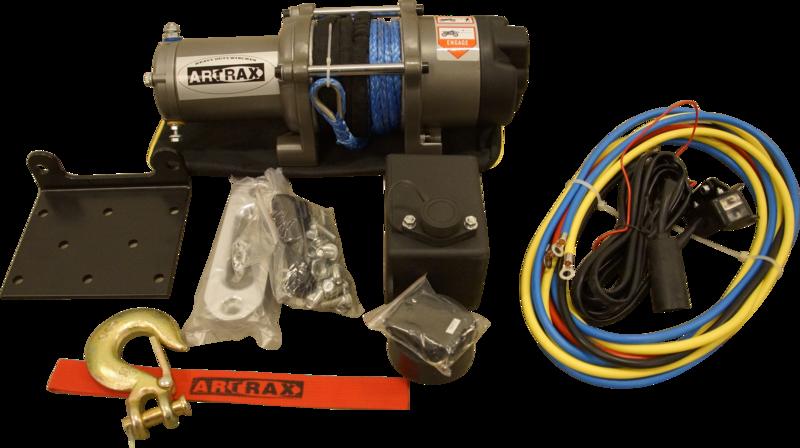 Black Wolf Artrax Vinschpaket 4.0 Nylon ATV