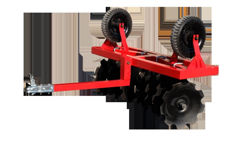 Black Wolf Kultivator ATV