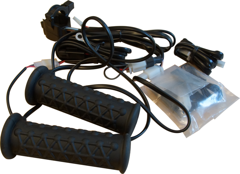 Black Wolf Handtagsvärmare ATV