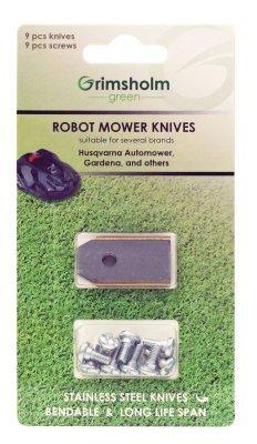 45 pack knivar Grimsholm till Automower, Gardena m.fl.