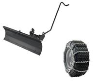 MTD Snöpaket för traktor med broddade kedjor