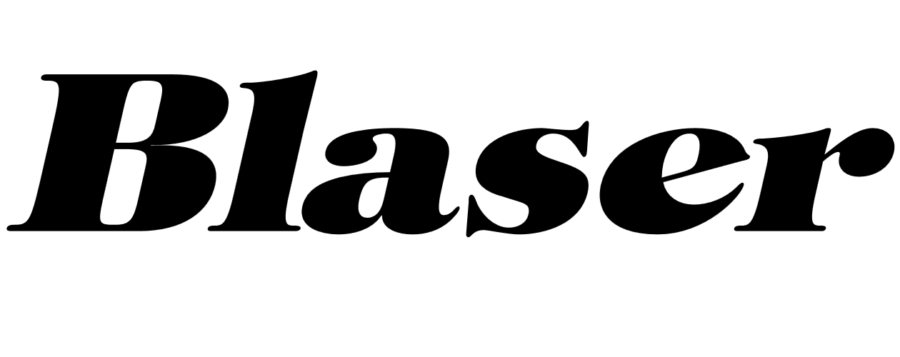 Blaser logotyp