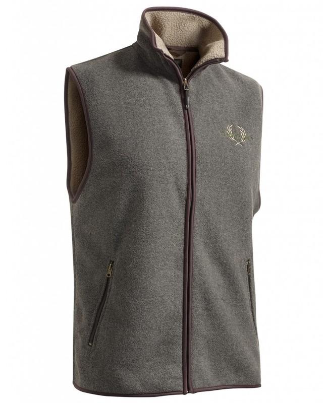 Mainstone Fleece Waistcoat Chevalier - Grey