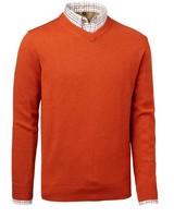 Gary Wool Pullover Chevalier - Orange