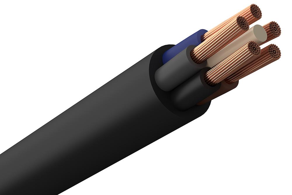 H07RN-F (Gummikabel) 5G2,5 R25