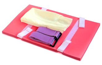 Enkel och smidig fixeringsmadrass för Trendelenburgläge