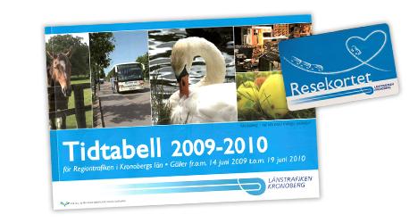 Tidtabell och resekort från 2000-talet