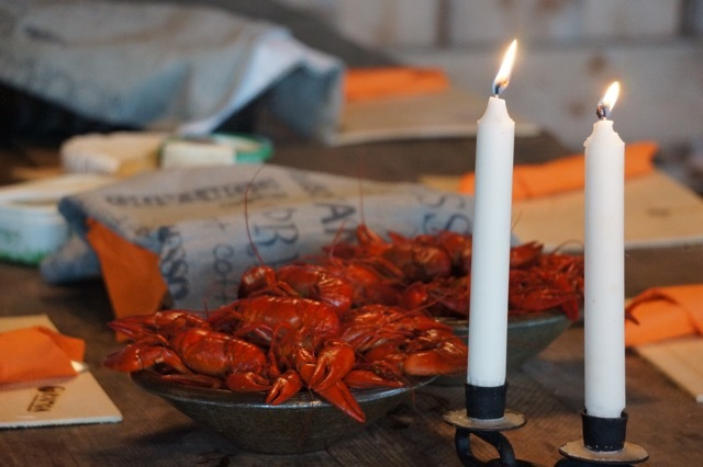 Första bild av Crayfishing for family