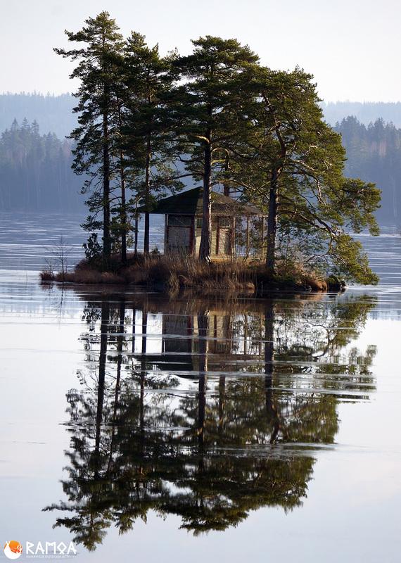 Första bild av Lusthuset på egen ö