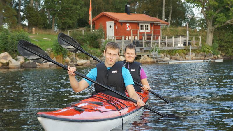 Första bild av Småland med kajak och MTB