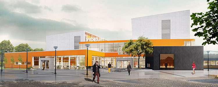 Expansion av Videum Science Park, Växjö 2017-2018.