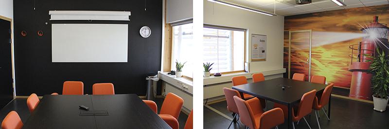 Grupprum Dalén i Videum Science Park, Växjö.
