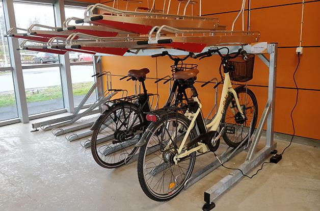 Nu har vi ett cykelgarage preview bild