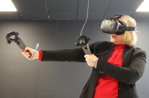 Silvia ny projektledare för Videum VR preview bild