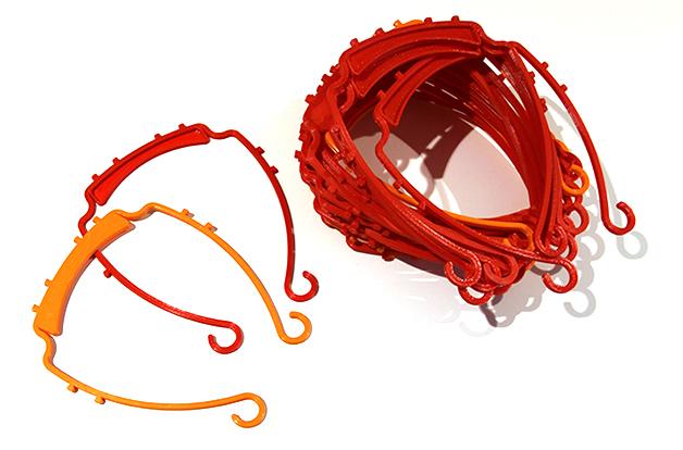 Låna ut din 3D-skrivare till utskrifter av skyddsutrustning preview bild