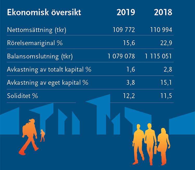 Ekonomisk översikt för VIdeum AB.