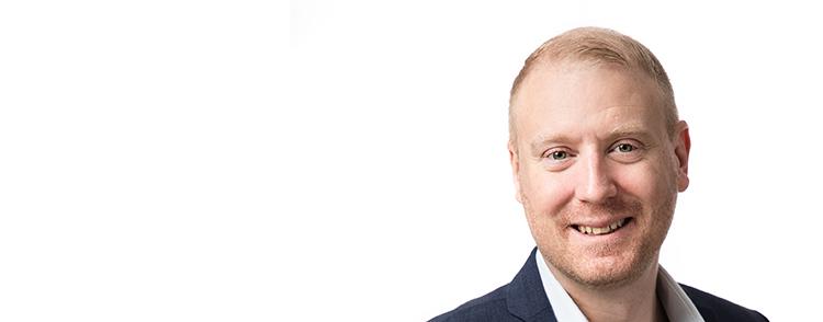 Foto på Innovationslänkens projektledare Jesper Lindahl.