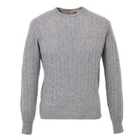 Cashmere Cable O-Neck