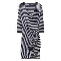 Striped Wrapdress