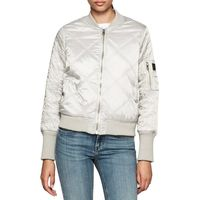 Opal Quilted Bomber Jacket