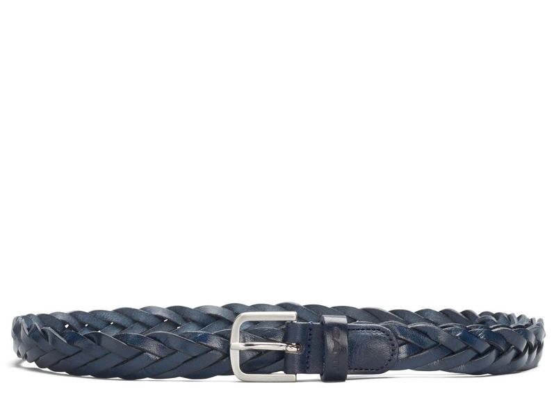 Bild 1 av Braided Leather Belt