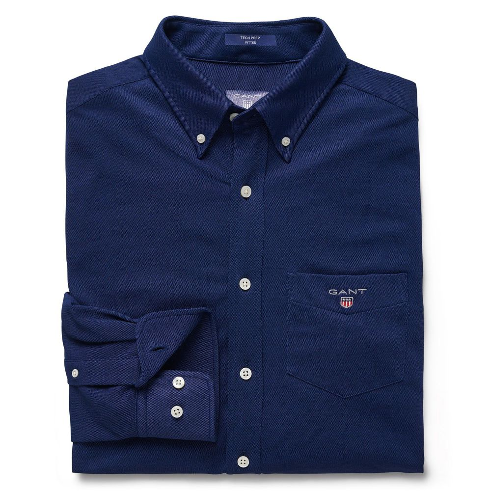 Bild 1 av Tech Prep Pique Shirt Fitted