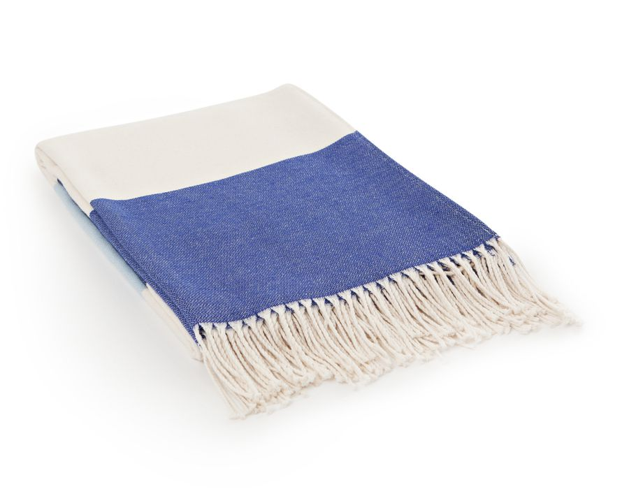 Bild 1 av Block Striped Throw