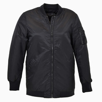 Oakira Long Bomber Jacket