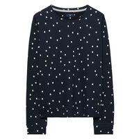 Dotted Fluid Sweatshirt