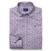 Broadcloth Dotty Leaf Shirt