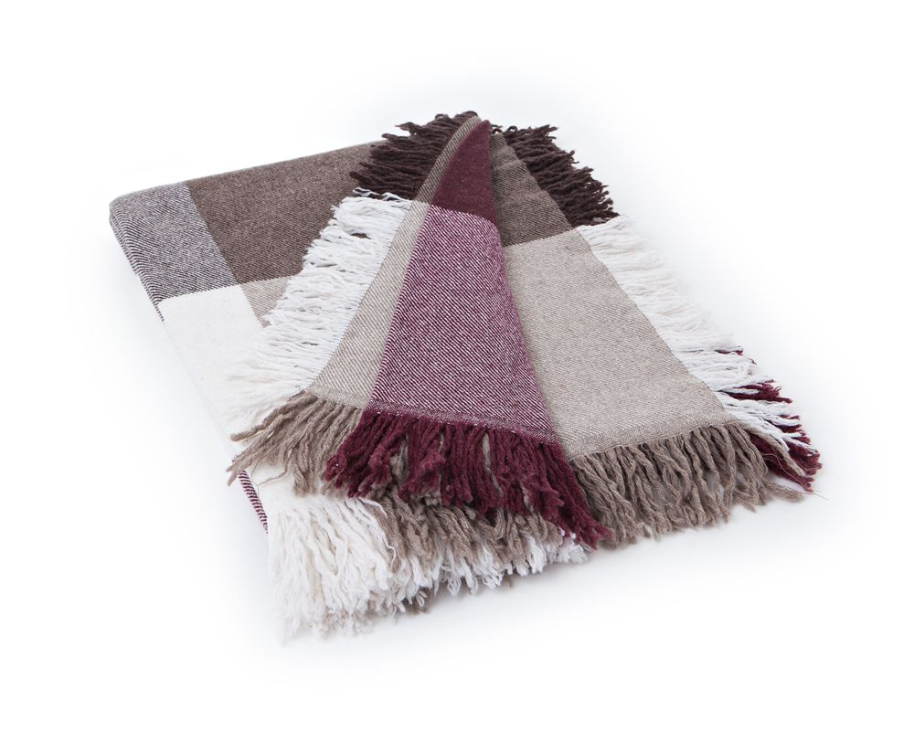 Bild 1 av Square Wool Throw