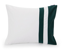 Border Sateen Pillow