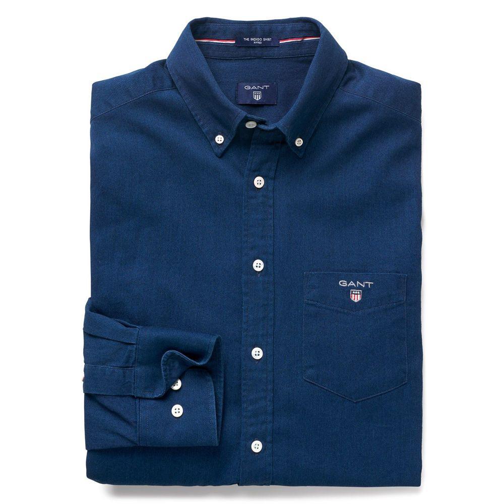 Bild 1 av Indigo Shirt Slim