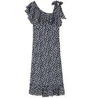 Roseburg Crepe Maxi Dress