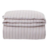 Pink Striped Sateen