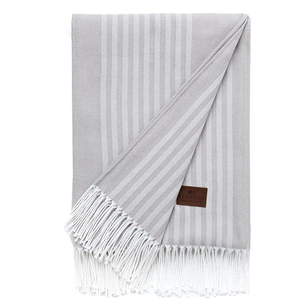Bild 1 av Striped Cotton Throw
