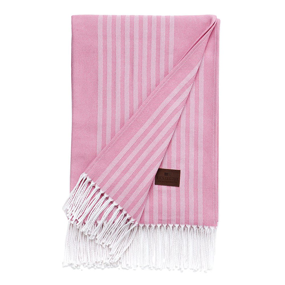 Bild 1 av Striped Cotton Throw