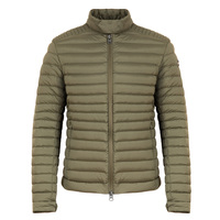 Mens Biker Stretch Down Jacket