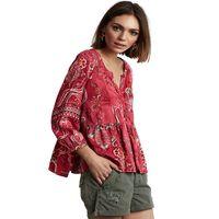 Delicate l/s blouse
