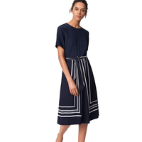 Border Stripe Dress