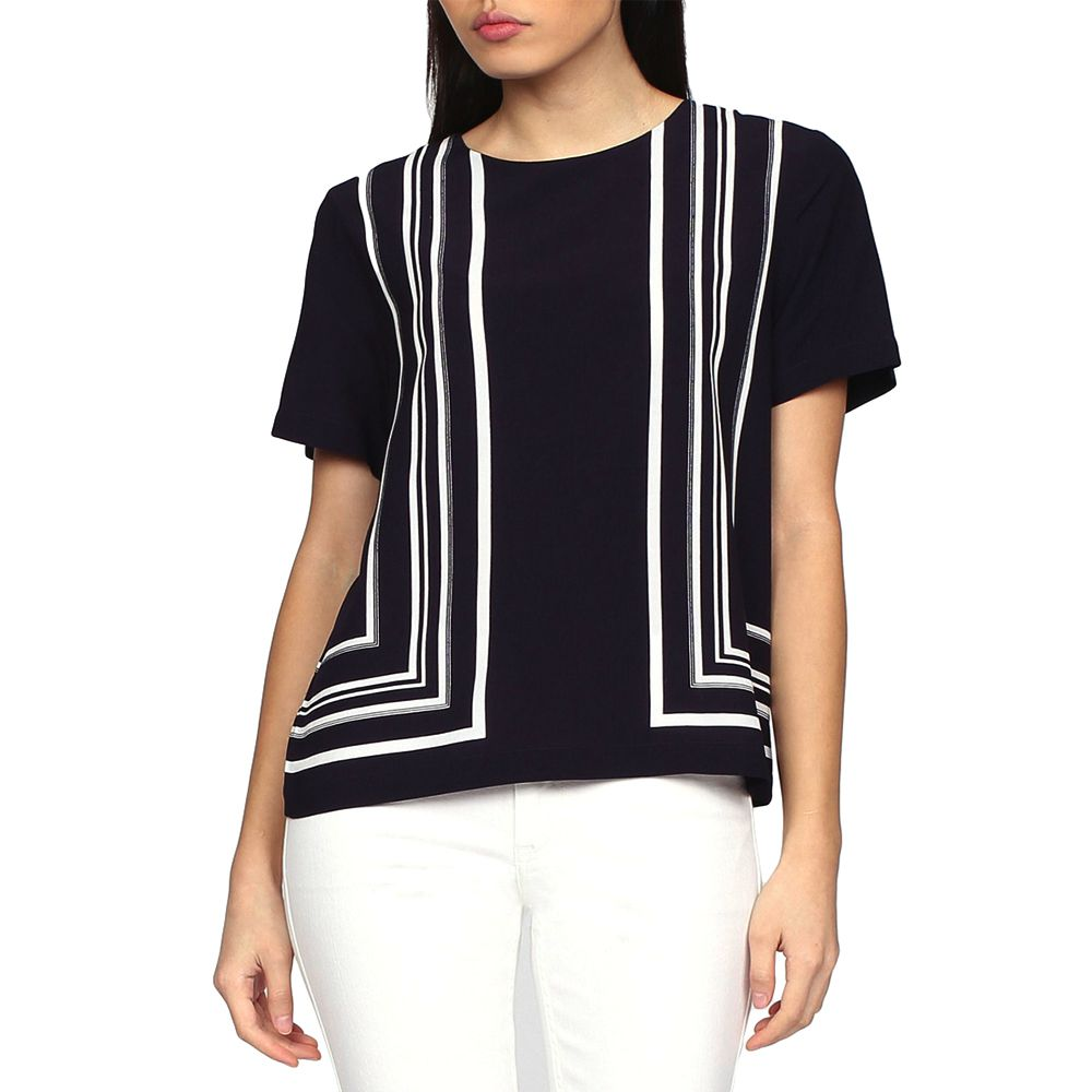 Bild 1 av Border Striped Top