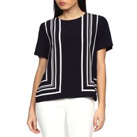 Border Striped Top