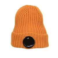 Lens Knitted Beanie Hat