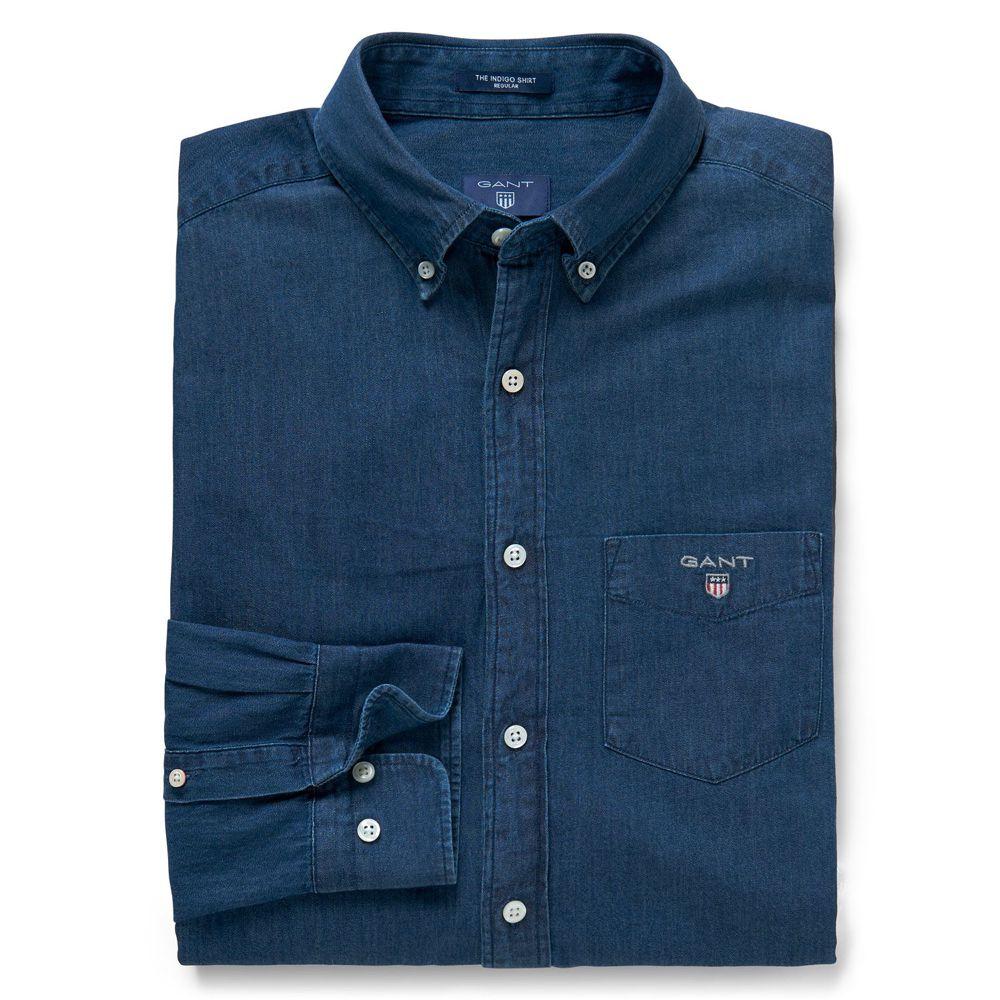 Bild 1 av Gant The Regular Indigo Shirt